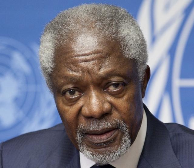 Си Цзиньпин выразил скорбь в связи с кончиной «друга Китая» Кофи Аннана