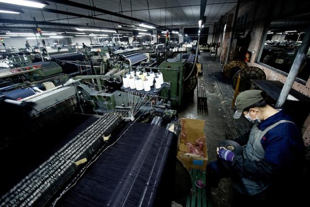 Джинсовое производство в Китае
