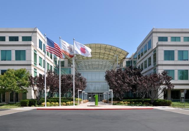 Головной офис Apple. Купертино. Калифорния