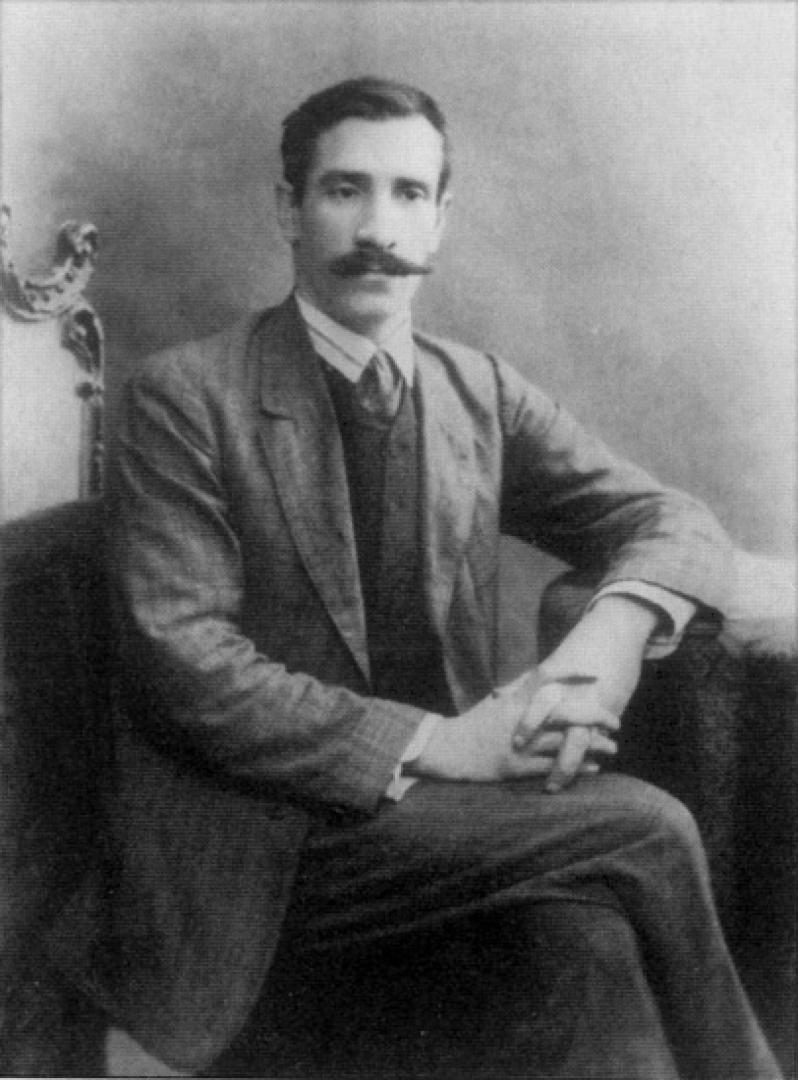 А.Грин в Петербурге. Фото 1910 г