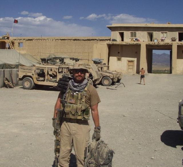 Наёмник из американской ЧВК в Афганистане