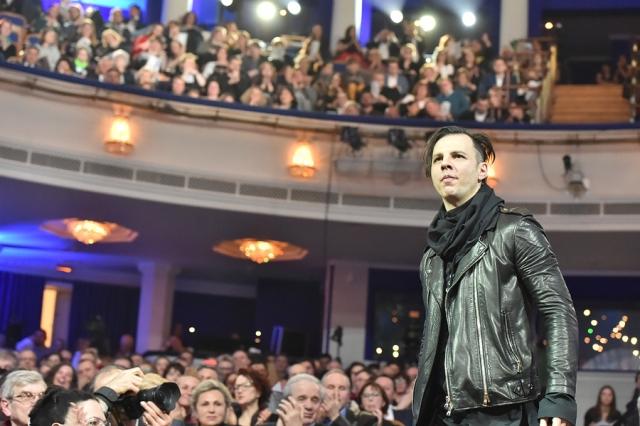 Теодор Курентзис на премии «Золотая маска — 2017»