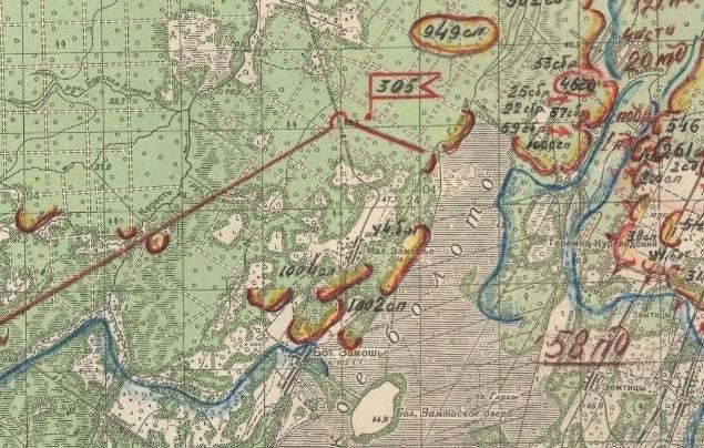 Отчетная карта ВГВ по состоянию на 08.06.1942
