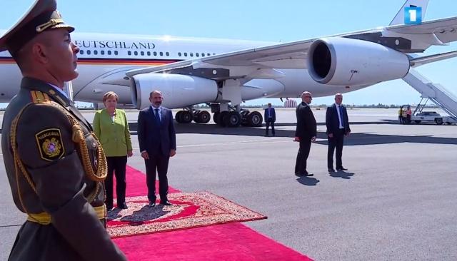 Первый визит канцлера Германии в Армению: Меркель встретил Пашинян