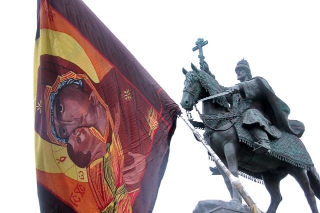 Олег Молчанов. Памятник Ивану Грозному в Орле. 2016