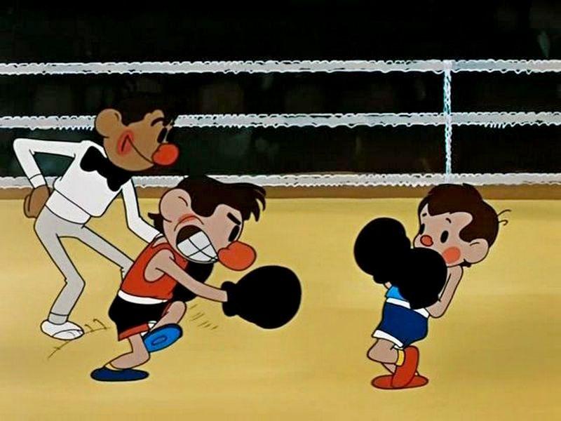 Мультфильмы про спорт картинки