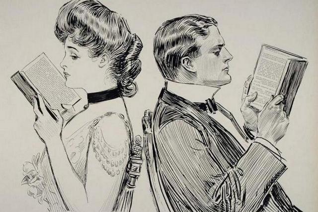 Чарльз Дана Гибсон. Их первая ссора. 1914