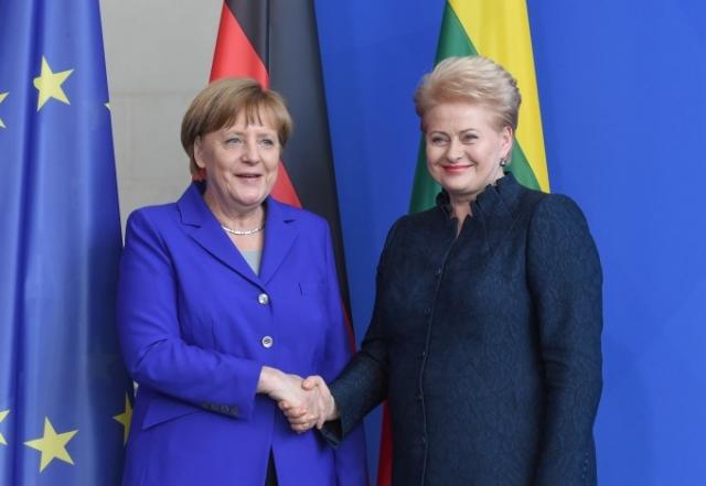 Анонсирован визит Меркель в Литву