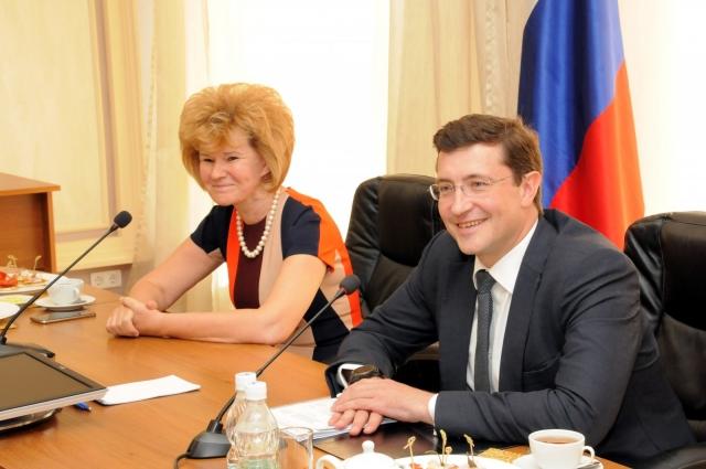 Ирина Потехина и Глеб Никитин