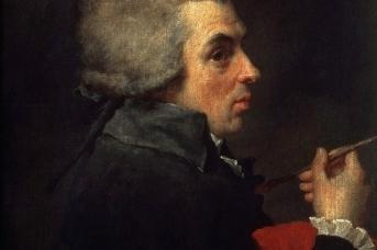 Жак-Луи Давид. Автопортрет. 1789