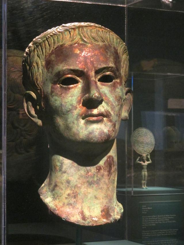Бронзовый бюст Калигулы. Между 37 и 41 гг. н.э. Музей изящных искусств в Хьюстоне, США
