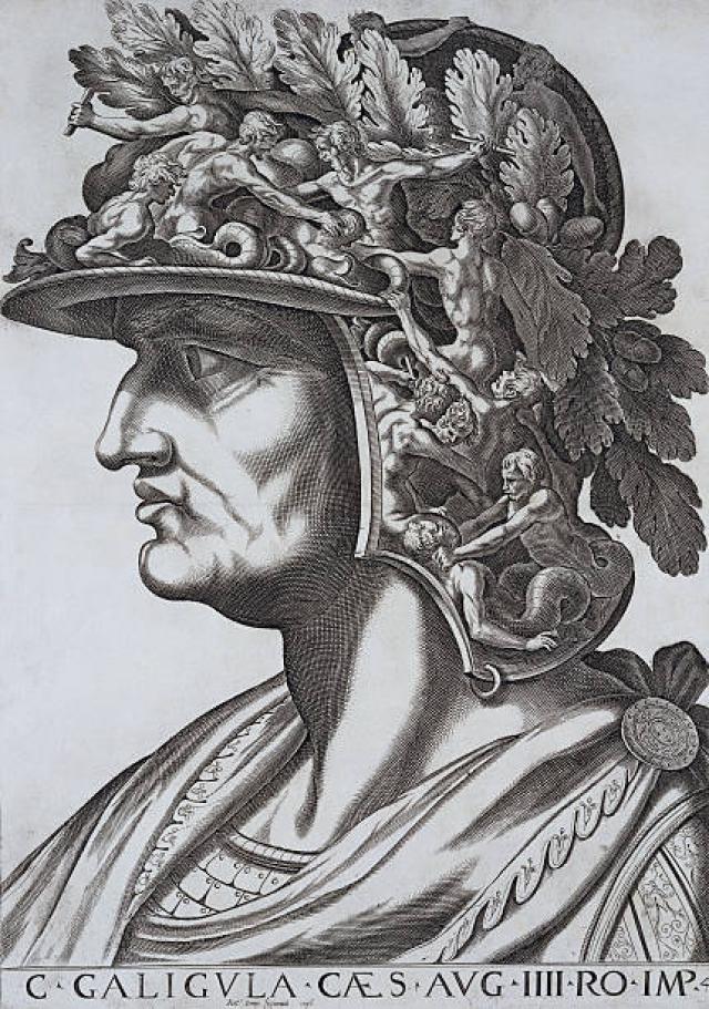 Портрет Калигулы времён Ренессанса