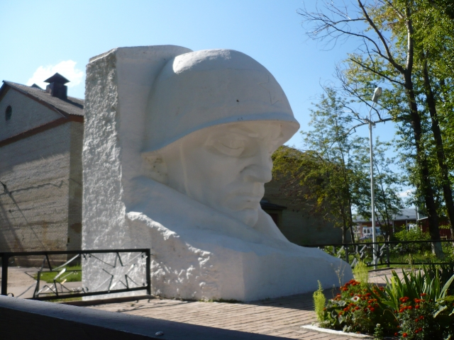 Киреевск. Братская могила советских воинов, погибших в годы Великой Отечественной войны