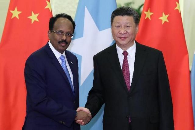 Си Цзиньпин встретился в преддверии Пекинского форума FOCAC с главой Сомали