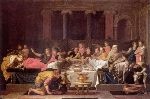 Никола Пуссен. Таинство исповеди. 1647