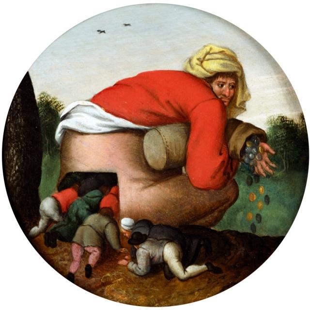 Питер Брейгель Старший. Льстецы. 1592