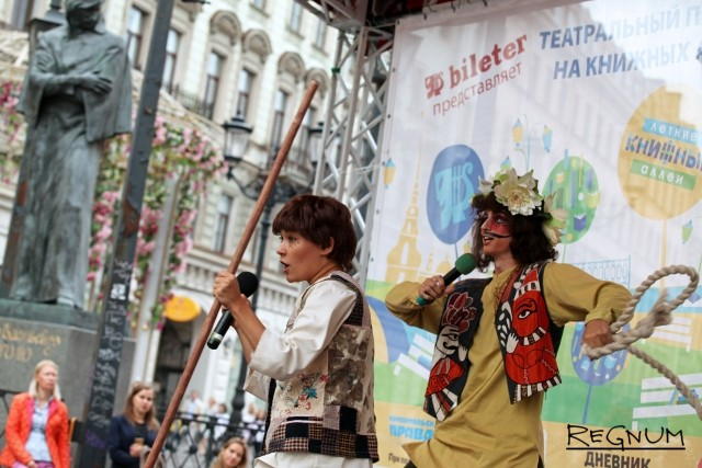 Артисты Театра «Зазеркалье»