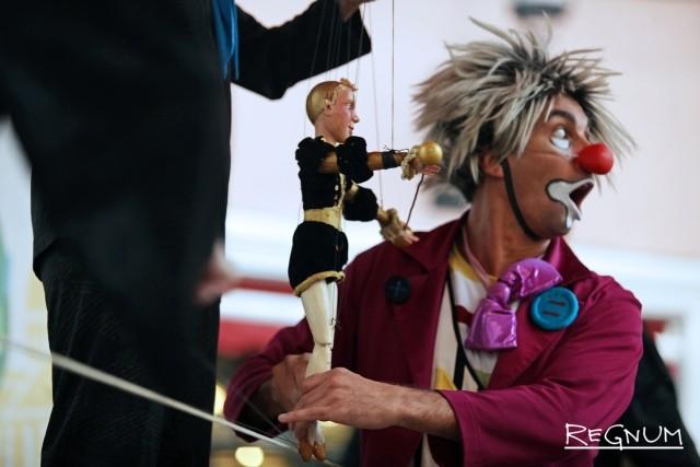 Шоу «Куклы и клоуны»