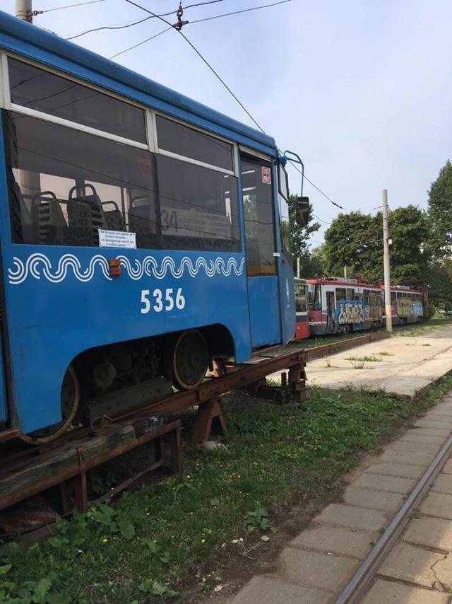 В Ярославль отправляют подаренные Москвой трамваи