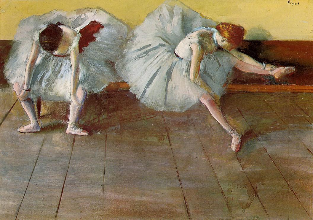 Эдгара Дега. Танцовщицы