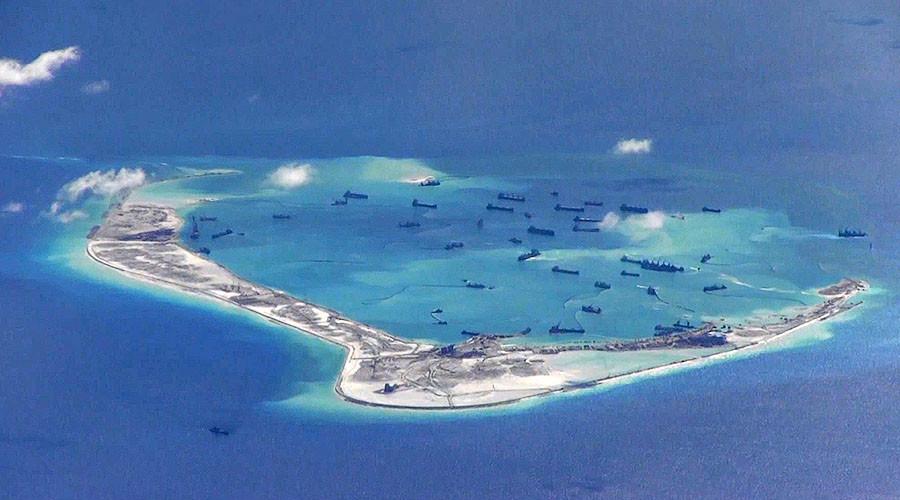 Китайские искусственные острова в Южно-Китайском море