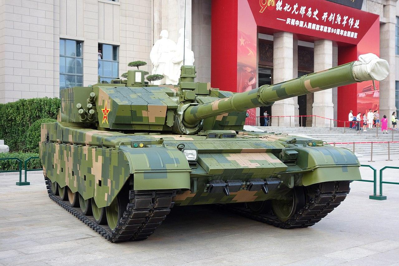 Китайский танк Type 99A