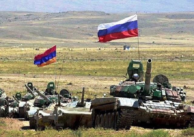 Российско-армянские военные учения учения