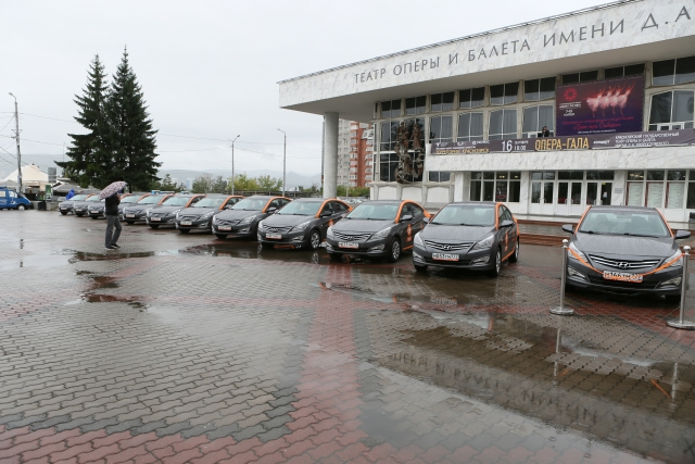 В Красноярске запустили службу сервиса каршеринга