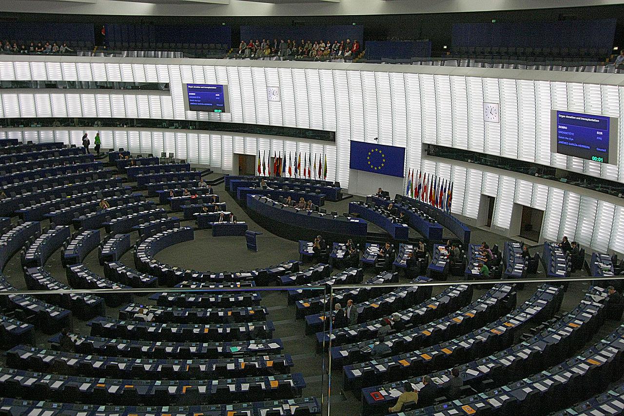 Дебаты в Европарламенте