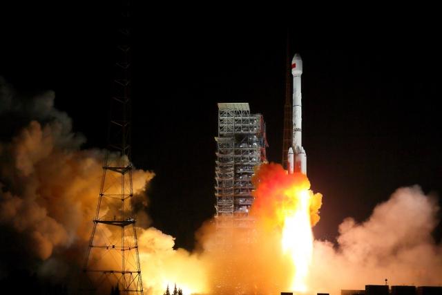 Китай успешно запустил спутник HY-1C для контроля за Мировым океаном