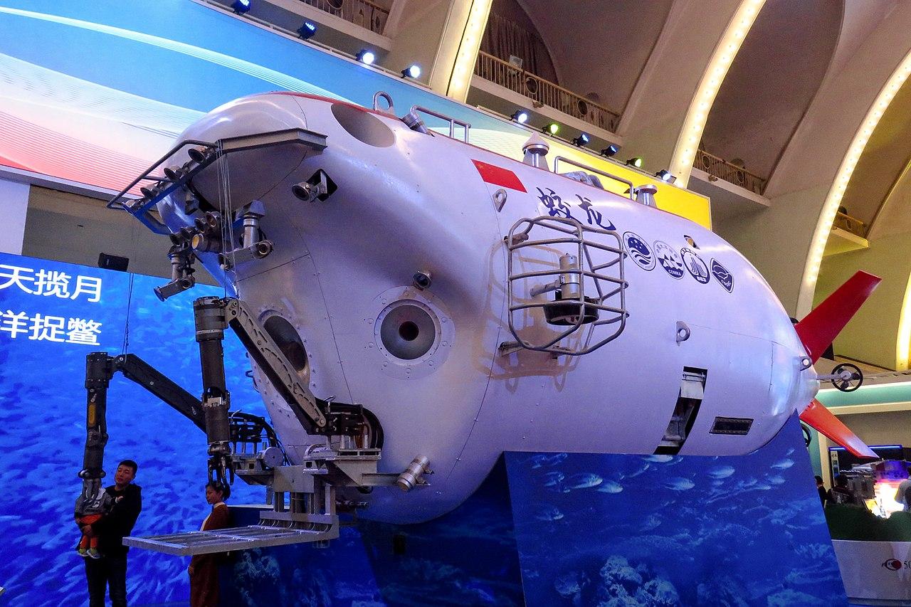Китайский подводный исследовательский аппарат «Цзяолун»