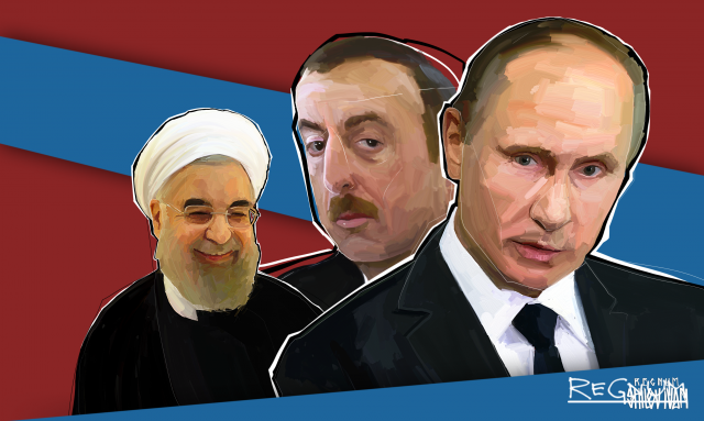 Азербайджан. Иран. Россия