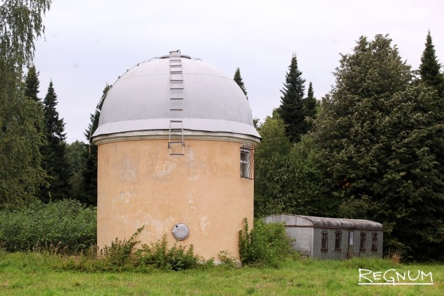 Территория Пулковской обсерватории
