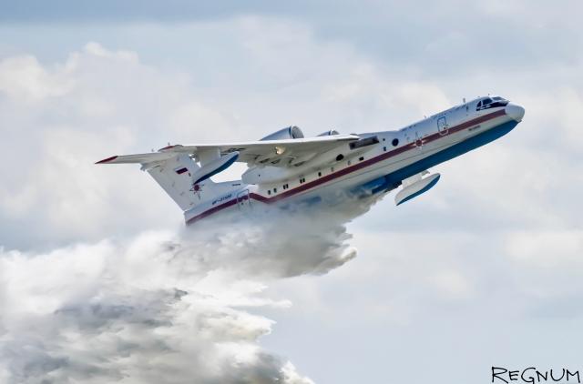 Таганрогский авиазавод передал МЧС России пятый борт Бе-200ЧС
