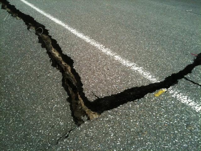 В Китае зафиксировано землетрясение магнитудой 5,9 баллов