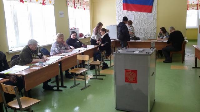 Явка на выборах красноярского губернатора к 10 утра не превышает 4%