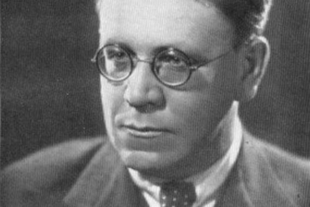 Самуил Яковлевич Маршак на всесоюзном съезде писателей