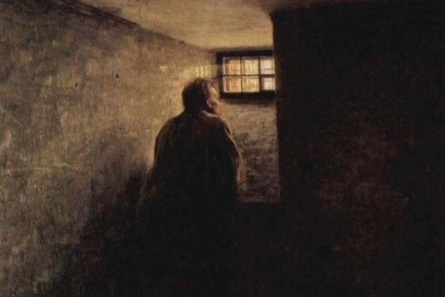 Николай Ярошенко. Заключённый. 1878