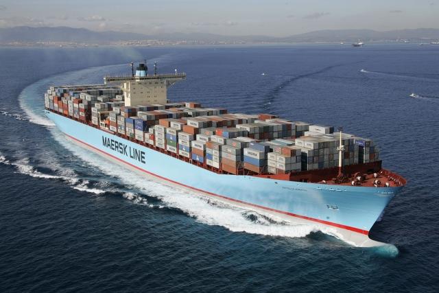 Контейнеровоз Maersk