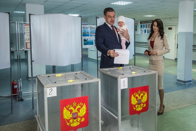 Василий Орлов победил на выборах губернатора Амурской области