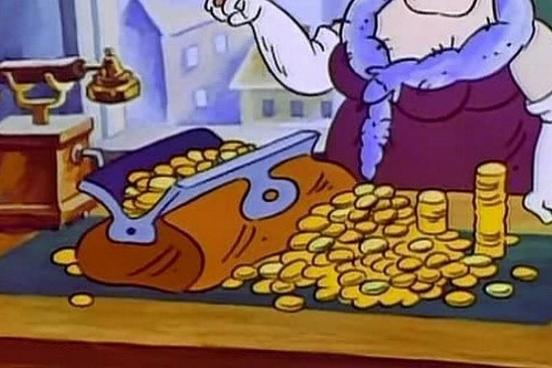 фунтик с деньгами картинки большинство