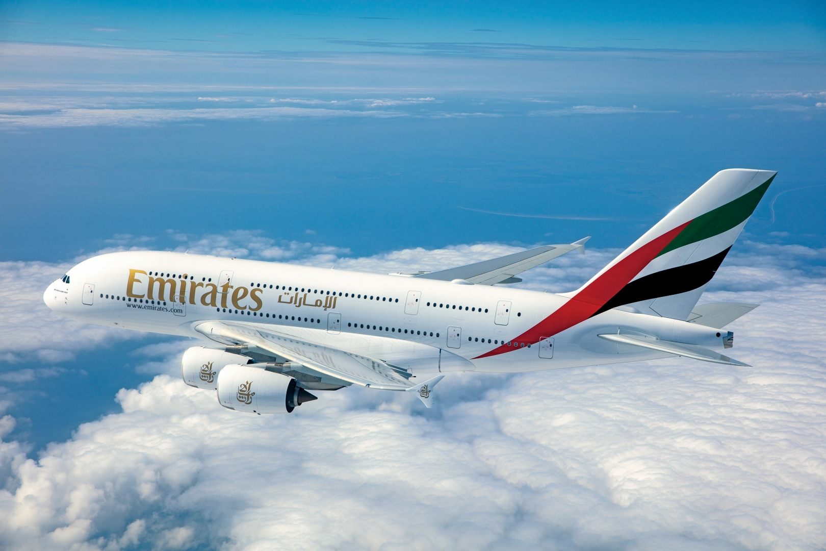 A380 авиакомпании Emirates