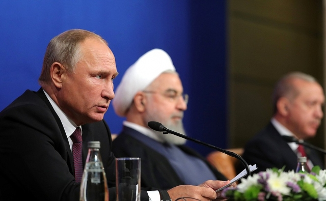 Саммит президентов России, Ирана и Турции