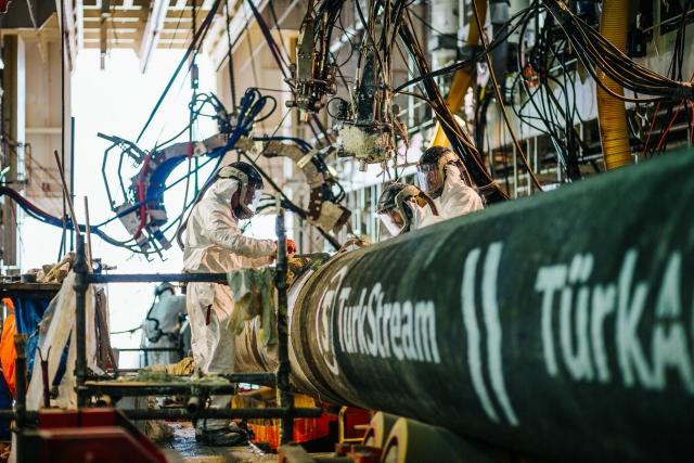 Строительство газопровода «Турецкий поток»