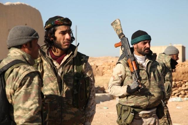 Бойцы курдской пешмерги