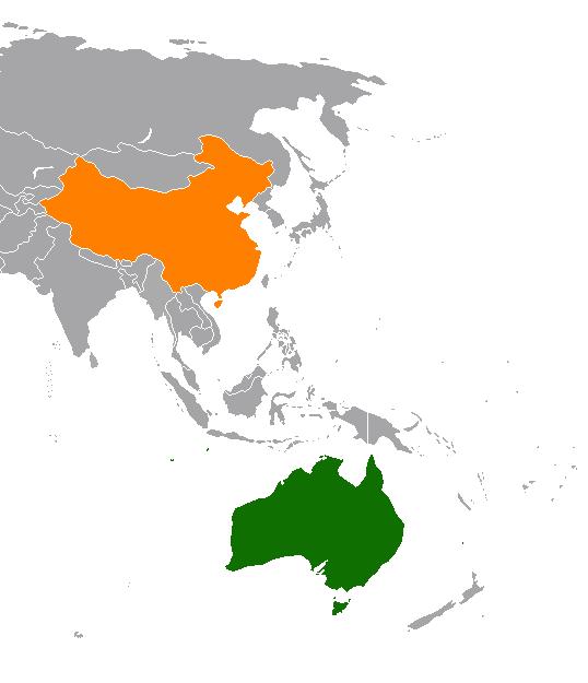 Китай и Австралия