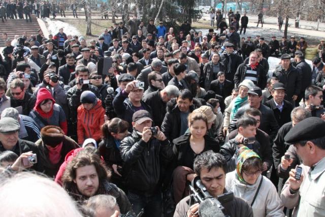 Казахские протесты