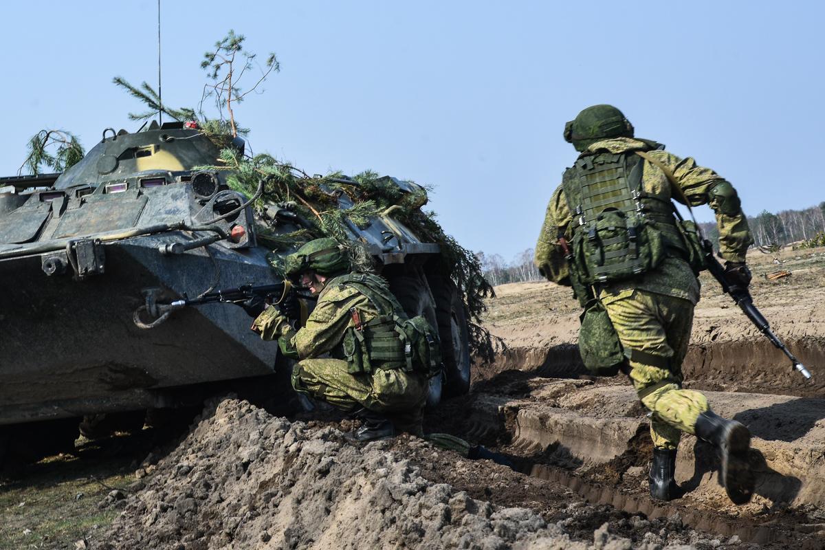 Военные учения ВС РФ
