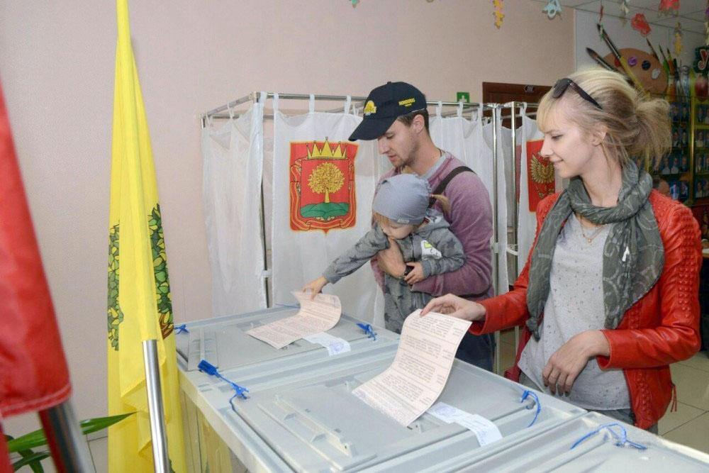 Выборы в Липецкой области