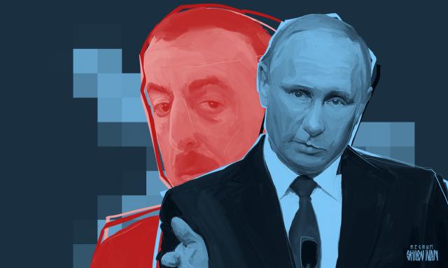 Зачем Путин летит в Азербайджан